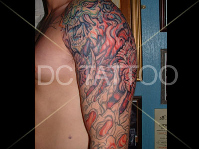 sleeve tattoos for men on arm